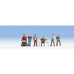 Musiciens ambulants