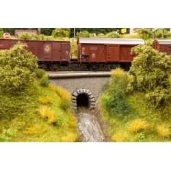 Ponceau en forme de tunnel