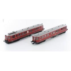 Dieseltriebwagen VT36.5/VS145 DB Ep.III rot