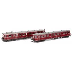 Dieseltriebwagen VT36.5/VS145 DB Ep.III rot mit ESU Loksoun