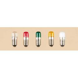 1 Lampe m. Schraubs. rot lose Zylinder