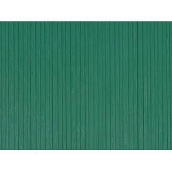 Dekorplatten Bretterwand grün