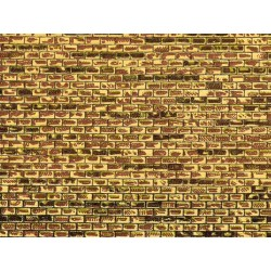 Dekorpappen regelmäßiges Mauerwerk