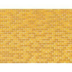 Dekorpappen Ziegelmauer ocker