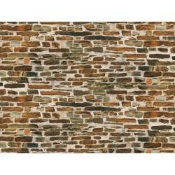 1 Dekorpappe Kalksteinmauer lose