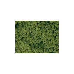 Schaumflocken hellgrün fein