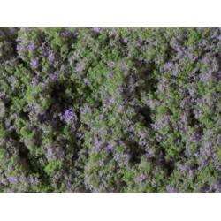 Blumenmatte violett