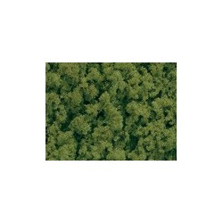 Schaumflocken hellgrün mittel