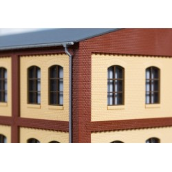 80414 Ecksäulen Obergeschoss rot Je 8 x 8 x 37 mm