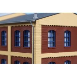 80415 Ecksäulen Obergeschoss gelb Je 8 x 8 x 37 mm