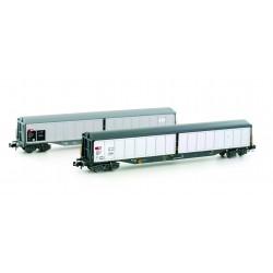 H23460 SBB Habils Güterwagen Ep.IV/V 2er Set