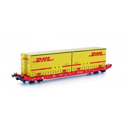 58863 Containerwagen Sgkkms689 DHL