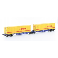 58865 Containerwagen Sggmrs 90 DHL