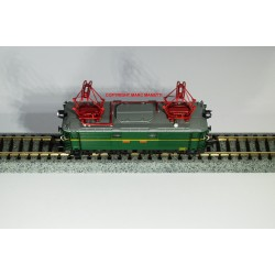 H66-85351 Locomotive électrique E 1003 vert UIC avec plaques RENFE