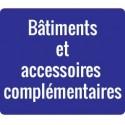 Bâtiments et accessoires complémentaires