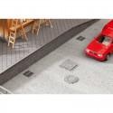 Bâtiments, Élément de décor en ABS, Laser Cut