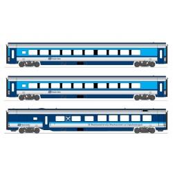 H25219 CZ Railjet 3-tlg.Barwg. 1.+2.Kl.
